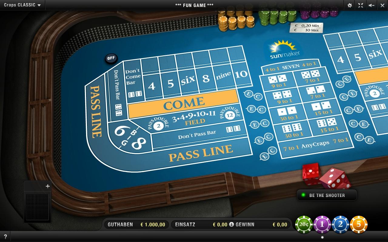 casino craps online jetzt spielen