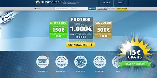 online casino sunmaker spiele casino automaten kostenlos