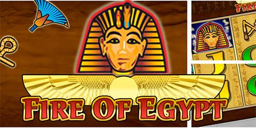 Fire of Egypt Spielautomat - Spielen Sie dieses Casino-Spiel gratis Online
