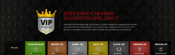 Magic Red VIP Programm