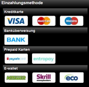 Videoslots Zahlungen